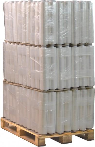 288 Rollen 1,5 kg Stretchfolie 23 my breite 500mm transparent
