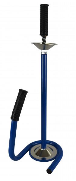 Profi Handabroller für Stretchfolie 450 - 500 mm blau Metall